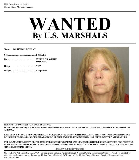 U S  Marshals Ask Utahns to Watch for Escapees Wanted for