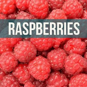Let's talk for a minute about raspberries. . .